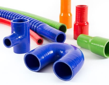 Silicone Hoses - Rubber Online - High Quality Rubber Products