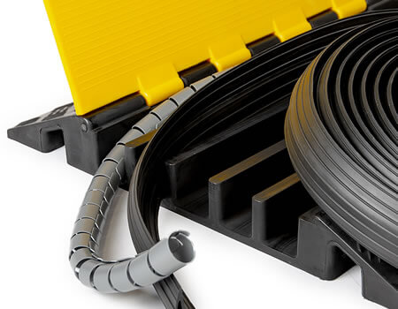 Cable Protectors - Rubber Online - High Quality Rubber Products