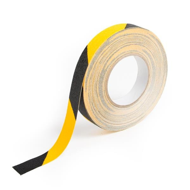 Anti-slip-safety-grip-tape-25mm-hazard-black-yellow-1