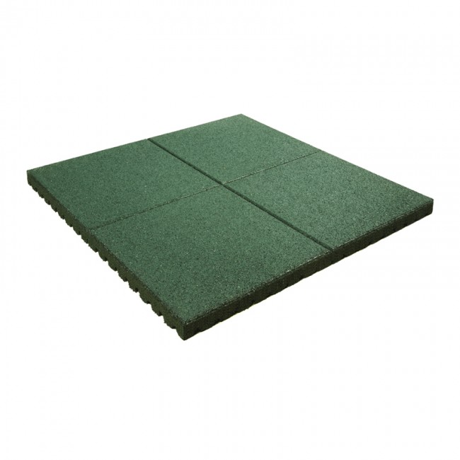 rubber-playground-tile-green-1000x1000mm-25mm-3