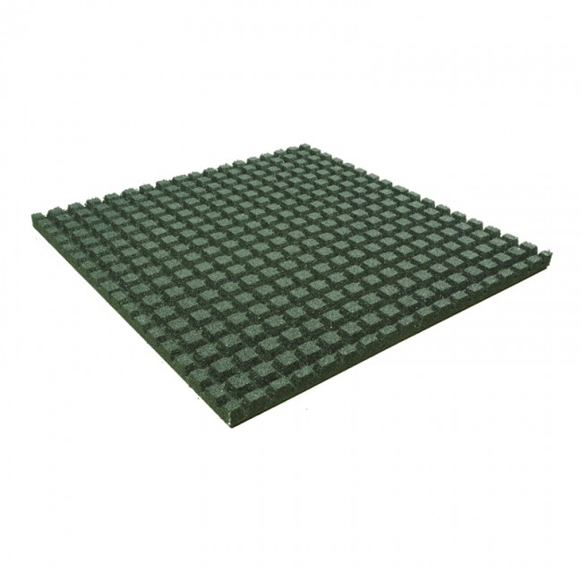 rubber-playground-tile-green-1000x1000mm-25mm-4