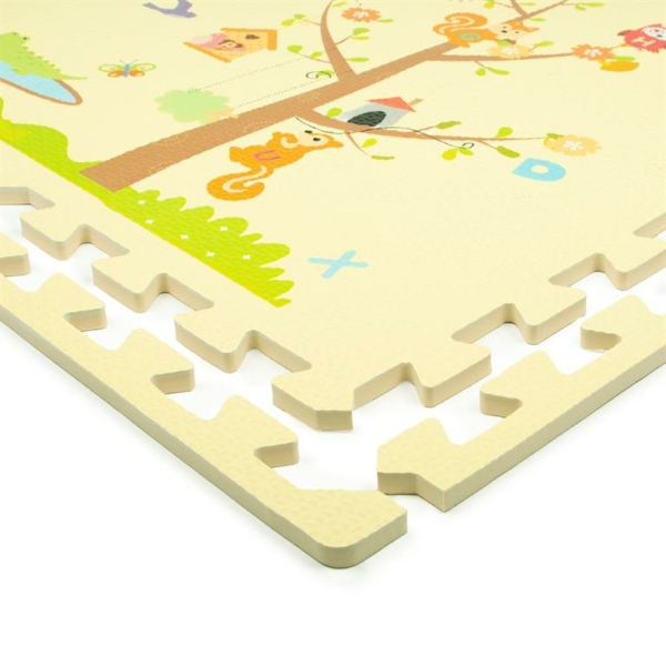 rubber-online-EVA-foam-tile-animals & trees-